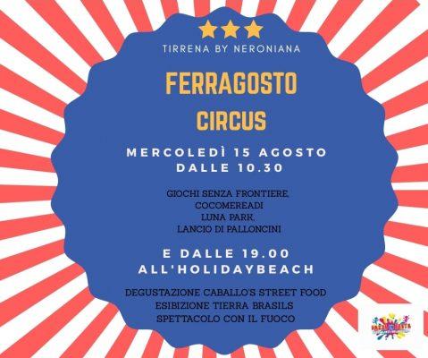 FERRAGOSTO CIRCUS AL TIRRENA